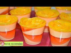 gelatina de philadelphia forrada de gelatina de frambuesas - YouTube Gelatin Recipes, Jello Recipes, Dessert Shooters, Jello Cake, Chickpea Curry, Bake Sale, Summer Desserts, Flan, Nutella