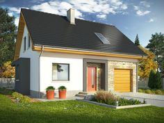 Traditional House, House Plans, Garage Doors, Shed, Floor Plans, Outdoor Structures, Flooring, Outdoor Decor, Studio