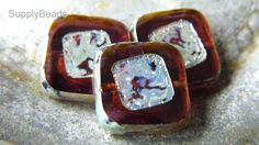 Beads, Jewelry, DIY, Fall Fashion, Square Beads https://www.etsy.com/shop/SupplyBeads?ref=hdr_shop_menu