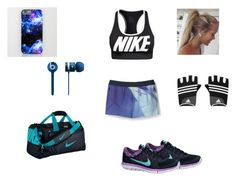 """Get Pumped"" by serai-825 ❤ liked on Polyvore featuring NIKE, Beats by Dr. Dre, Theory and adidas"