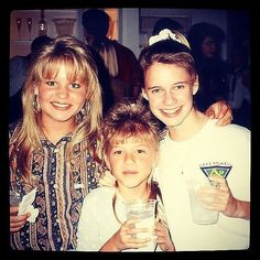 How cute is this throwback picture of the Full House girls? Check out all the best photos of the cast hanging out in real life, including more must-see snaps of Candace Cameron Bure, Andrea Barber, and Jodie Sweetin.