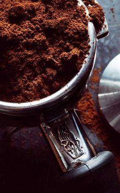 ☕ Fresh #coffee grounds ☕ #Photography by Tuukka Koski