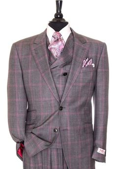 Menswear - Tiglio Suit for Men Sharp Dressed Man, Well Dressed Men, Gq Style, Classic Style, Dress Suits, Men Dress, Men's Suits, Business Casual Dress Code, Business Suits