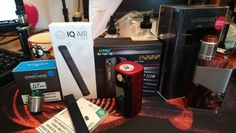 Just in... GTRS P222, Wismec Luxotic NC, Vandy Vape Lit RDA and one of Hangsens latest pod systems...