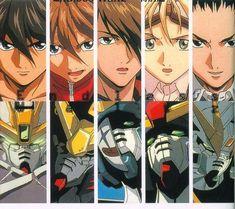 Gundam Wings Boys