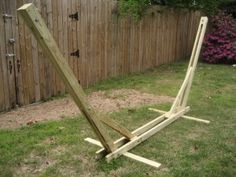 make your own hammock stand with my diy plans - Wooden Hammock Stand