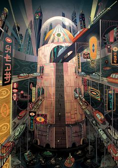 "I want to hire Victo to art direct a dream Victo Ngai, Neo 1984,Cover for ""Dark Fairytales"" by TinHong ..."