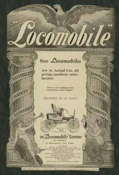 1899 ad: Locomobile