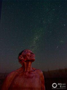 A truly mesmerizing photo of a bushman woman in the Kalahari, by Max Bastard