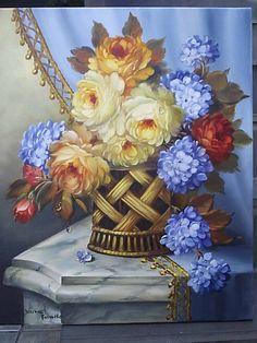 Arranjo Floral Dorimar Carvalho Moraes - Artelista.com