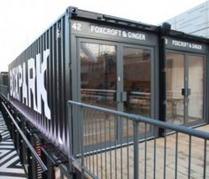 BOXPARK strips and refits shipping containers to create unique, low cost, low risk, 'box shops'