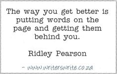 Quotable - Ridley Pearson - Writers Write Creative Blog
