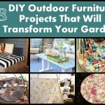 18 DIY Outdoor Furniture Projects That Will Transform Your Garden