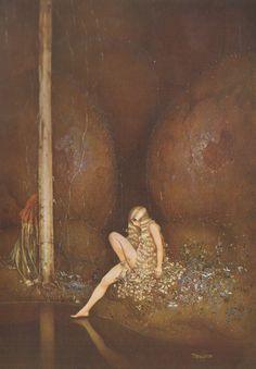 """Gustaf Tenggren """"RED FAIRY BOOK"""", 1924"""