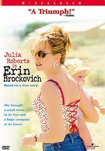 Erin Brockovich (Blu-ray + DVD + Digital Copy) on Blu-ray from Universal. Directed by Steven Soderbergh. Staring Julia Roberts, Aaron Eckhart and Albert Finney. More Drama, Based-On-A-True-Story and Academy Award Winners DVDs available @ DVD Empire. Julia Roberts, See Movie, Movie Tv, Movie List, Movies Showing, Movies And Tv Shows, Brazil Movie, Erin Brockovich, Mona Lisa