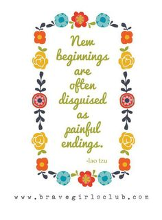 a little bird told me ♥ your daily truth from the Brave Girls Club #NewBeginnings