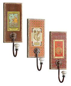 tarot card wall hooks