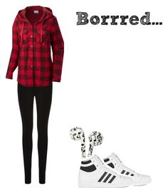 """""""I was borrrredd soo......."""" by glittergorgeous1989 ❤ liked on Polyvore featuring moda, adidas Originals, Oasis y Columbia"""