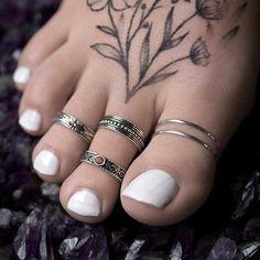 CORA. Tribal Midi Ring / Toe Ring