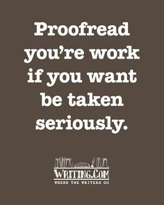 proofread paper