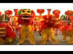 (Video) Lunar New Year Celebrations Begin in China.  Featuring a dragon dance.