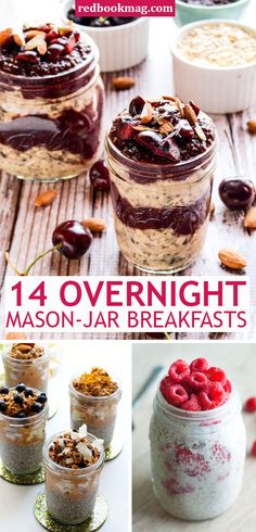 Overnight Oats Mason Jar Recipe - Make Ahead Breakfast - Mornings are hectic enough without worrying about what's for breakfast. Cue these night-before lifesavers that make waking up so much better.