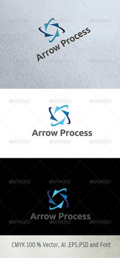 Arrow Process #GraphicRiver Logo Description: The logo is Easy to edit to your own company name.The logo is designed in vector for highly resizable and printing. The Logo Pack includes. 100% vector (re-sizable). Color mode: CMYK. AI file (for Illustrator CS or higher). EPS file (for Illustrator / Corel Draw / Freehand). Help document with download link of the font used. Please rate if you like it !! Created: 28September13 GraphicsFilesIncluded: PhotoshopPSD #TransparentPNG #JPGImage…