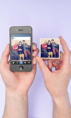 Stickygram - Turns Instagram Images into Magnets. A nice idea to stick your memories around! #neat #giftidea #keepsake