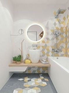 Simply Chic Bathroom Tile Design Ideas 12 Simply Chic Modern Bath Tiles For Girl Home Decor Ideas regarding ucwords] Interior, Tile Design, House Interior, Small Bathroom, Bathroom Tile Designs, Modern Baths, Bathroom Flooring, Bathroom Decor, Bathroom Inspiration