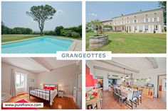 Grangeottes sleeps 12, South West France. Visit our website to see more: www.purefrance.com/81007