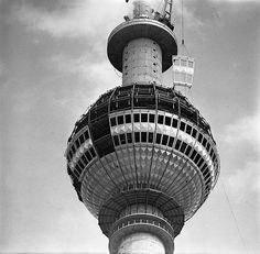 "On August 4, 1965, construction began: uncube's ""Radically Modern in 60s Berlin"" (5): The TV Tower - Radikal Modern Blog"