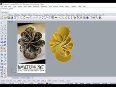 Rhinoceros Tutorials 5 Flower Like Ring Rhino Tutorial, 3d Tutorial, Rhino Cad, Wax Carving, Jewelry Boards, Rhinoceros, Zbrush, Handmade Jewelry, Jewelry Design