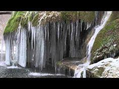 Cascada Bigăr, UNICĂ ÎN LUME, a înghețat! Imagini de basm cu cea mai spectaculoasă cădere de apă din Banat (VIDEO) - mariustuca.ro   2016