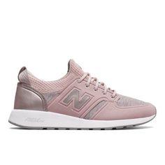 420 REVlite Slip-On Women's Sport Style Shoes - Pink/Gold (WRL420SE)