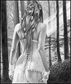 Great Pencil Fantasy Drawings | ... 500x590 25 Absolutely Magical Fantasy Traditional Art Drawings