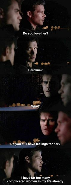 Hmmm, I wonder. Now that TVD has ended with Stefan gone and Caroline possibly showing up on The Originals, a future for Klaroline has my heart happy.
