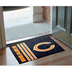 Chicago Bears Door Mat Rug Doormat