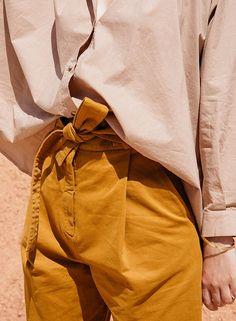 Pantalon Catrine Ocre