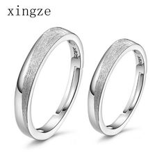 Find More Rings Information about High quality silver plated couple rings lassa scrub silver plated couple rings opening fine jewelry one pair price wholesale,High Quality jewelry gemstone rings,China jewelry ring adjuster Suppliers, Cheap jewelry findings rings from Xingze Jewelry store on Aliexpress.com