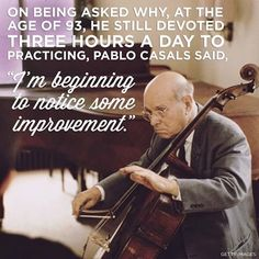 Pau Casals i Defilló, known as Pablo Casals was a cellist and conductor from Catalonia, Spain. He is generally regarded as the pre-eminent cellist of the first half of the century, and one of the greatest cellists of all time. Music Memes, Music Quotes, Music Songs, My Music, Cello Quotes, Music Life, Fun Quotes, Music Stuff, Some Good Quotes