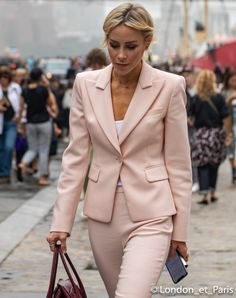 Happily Grey Michael Kors Street Style New York Fashion Week NYFW SS19 Happily Grey, Jogging, Fashion Photo, Suit Jacket, New York, Michael Kors, Street Style, London, Work Outfits