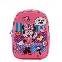 Ghiozdan mic 3D Minnie Ive Got This, Minnie Mouse, Lunch Box, Backpacks, Children, Disney, Young Children, Boys, Kids