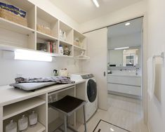 -*kico's Happy Home* Laundry Room Design, Laundry In Bathroom, Bathroom Storage, Interior Design Services, Interior Design Living Room, Home And Deco, Ideal Home, Sweet Home, New Homes