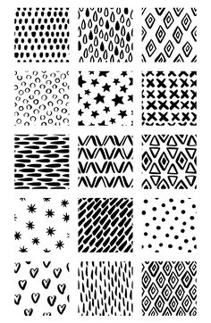 Black & White inky patterns by Maria Galybina on Doodle Art Designs, Doodle Patterns, Zentangle Patterns, Textile Patterns, Pattern Drawing, Pattern Art, Pattern Design, Black White Pattern, Black And White Drawing