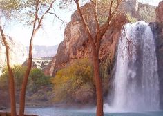 Havasu Falls, South Rim, Grand Canyon