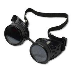 Steampunk Brille - Die coole Cyber Brille ist ein tolles Accessoire für Steampunk und Gothic Fans  #costume #kostum #carnival #karneval