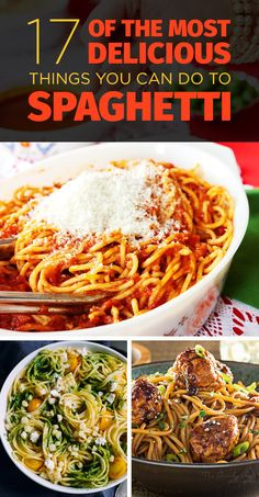 17 Of The Most Delicious Things You Can Do To Spaghetti
