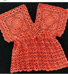 Crotchet Dress, Crochet Tunic, Crochet Clothes, Crochet Bikini, Knit Crochet, Cute Skirt Outfits, Crochet Summer Tops, Crochet Videos, Beautiful Crochet