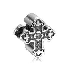Christian Cross Charm 925 Sterling Silver Pandora Compatible