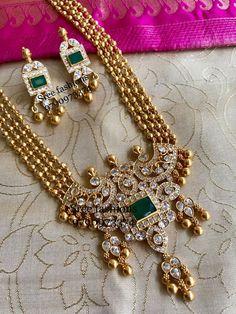 Cute Stone Silver Necklace